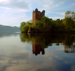 Castle from Loch